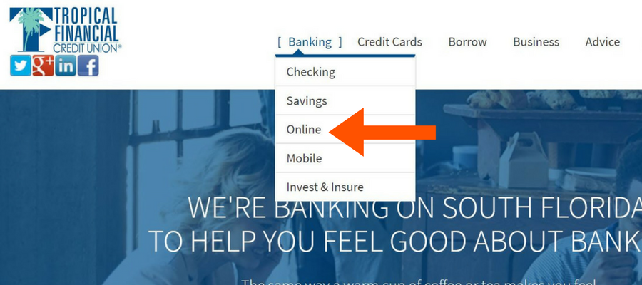 Accessing TFCU online banking