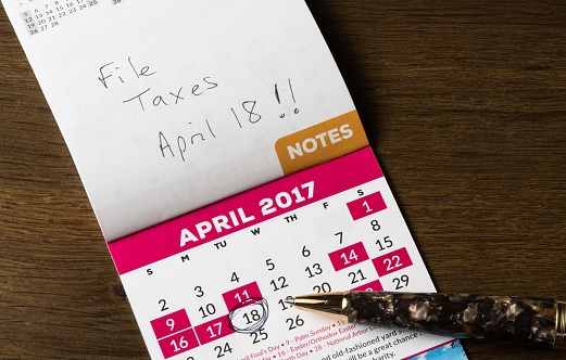 image - note to file taxes