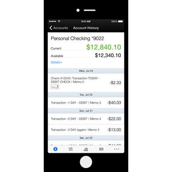 TFCU mobile banking