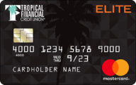 Tropical Financial Credit Union Elite Fixed Rate Credit Card