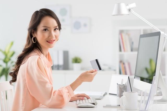 Employee using company card