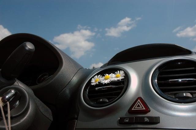 Flower car scent