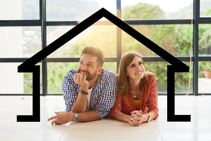 A young, happy couple dreams of buying a new home. But will they regret it?