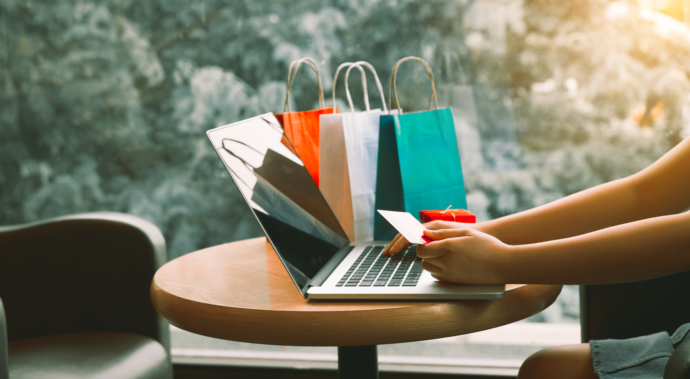 Rewards from credit union while online shopping