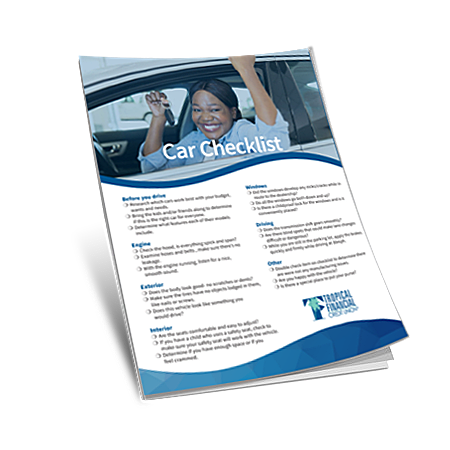 TFCU_Car_Buying_Checklist