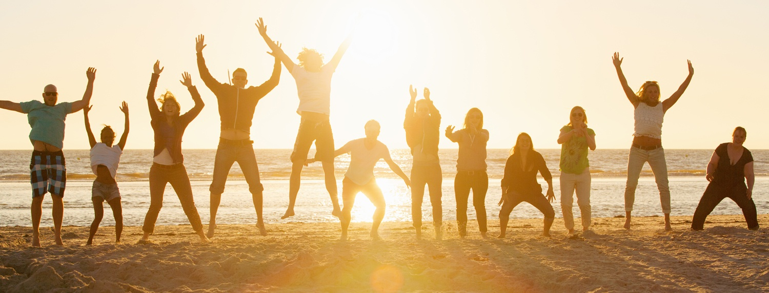 Image - people jumping for joy