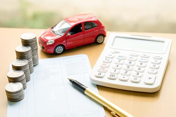 calculating rate on new car