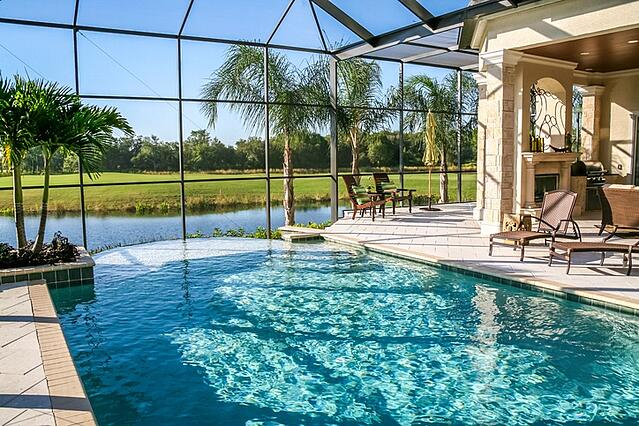 florida home with pool