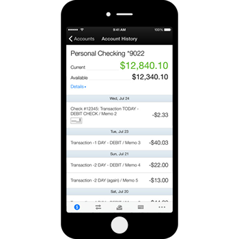 Image - Accessing your TFCU mobile account