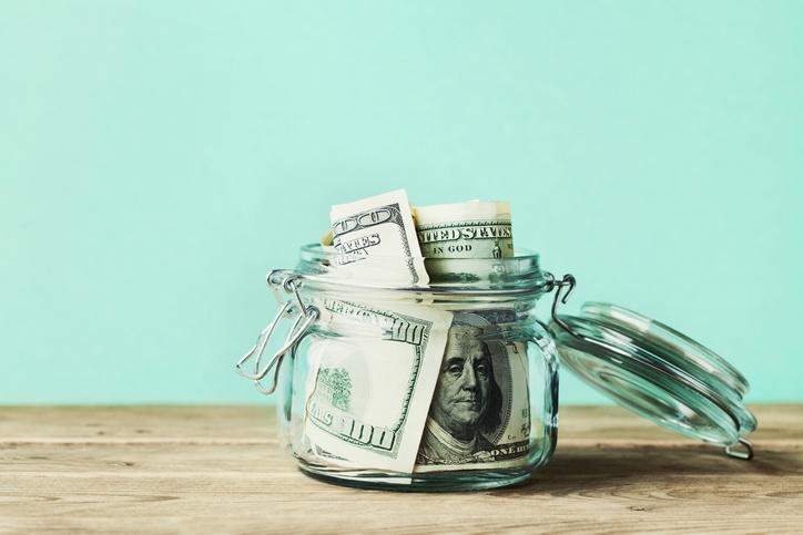 money in savings