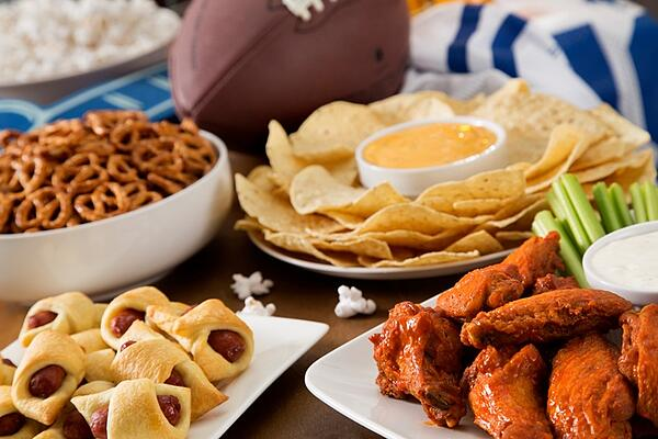snacks to eat while watching the big game