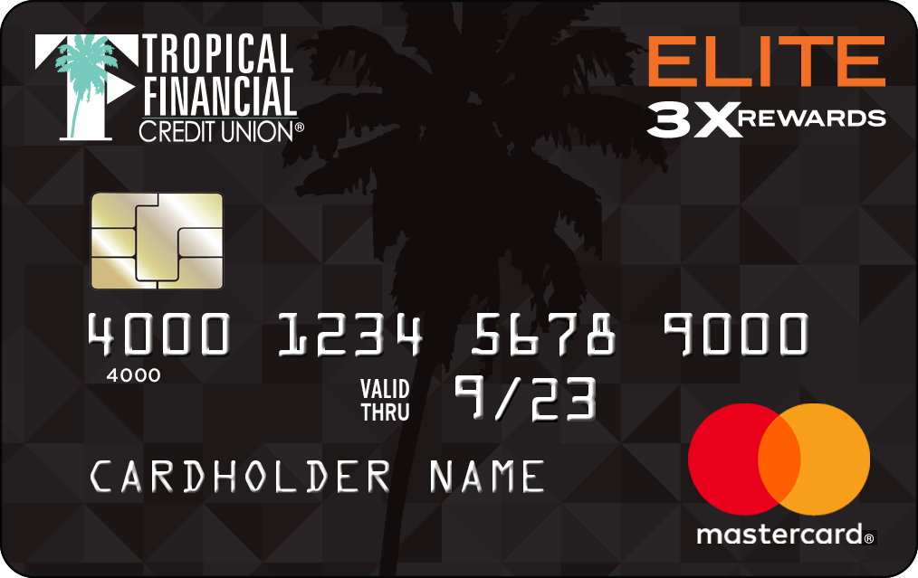 TFCU Mastercard Elite 3X Rewards Card