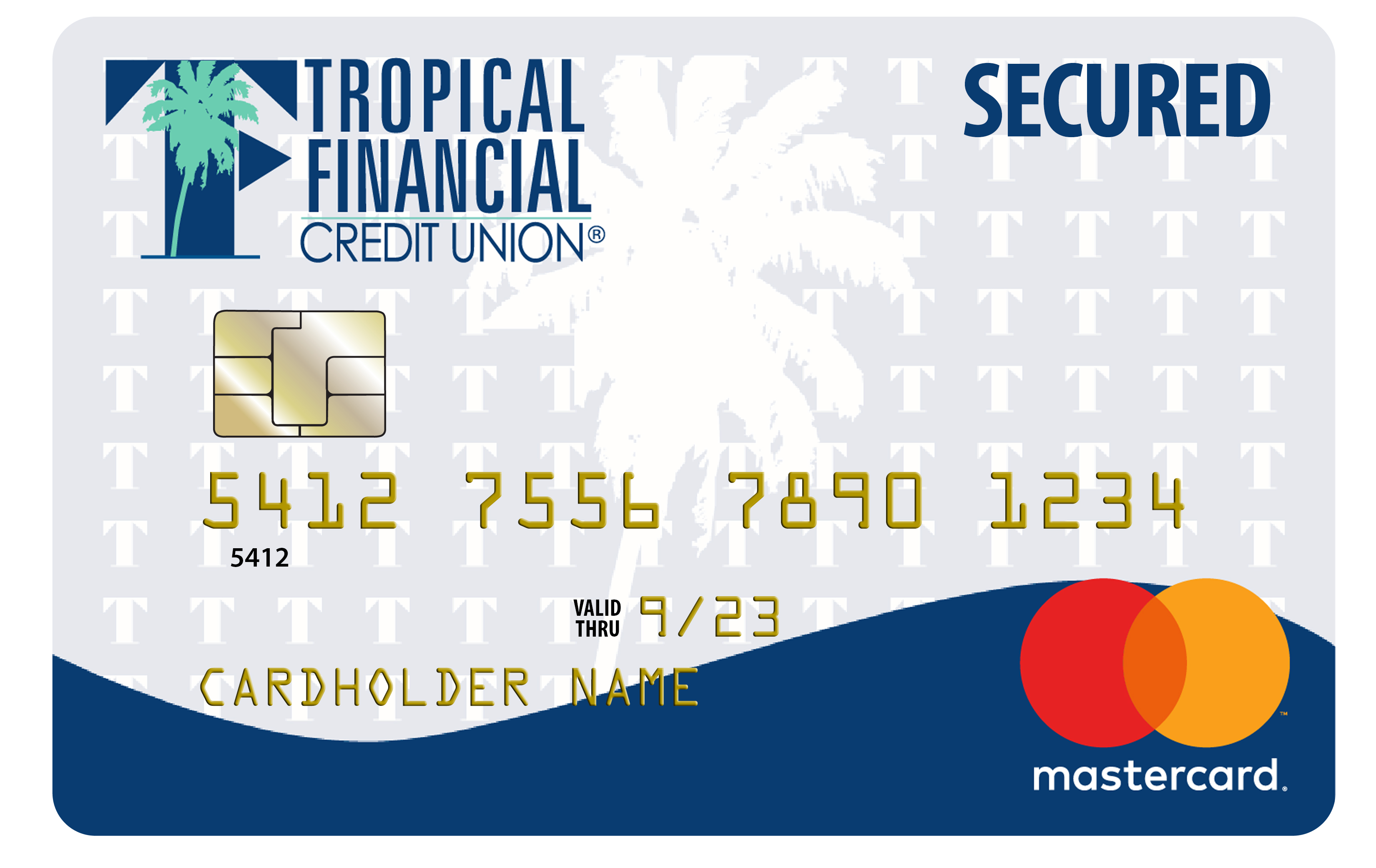 Secured mastercard
